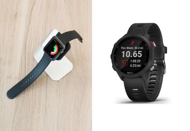 Garmin Forerunner 245 vs Apple watch 5