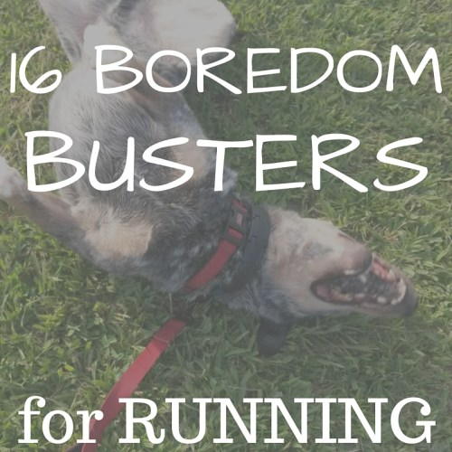 Boredom Busters for Running Title
