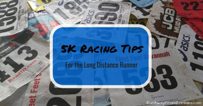 5K Tips for Long distance runner Title