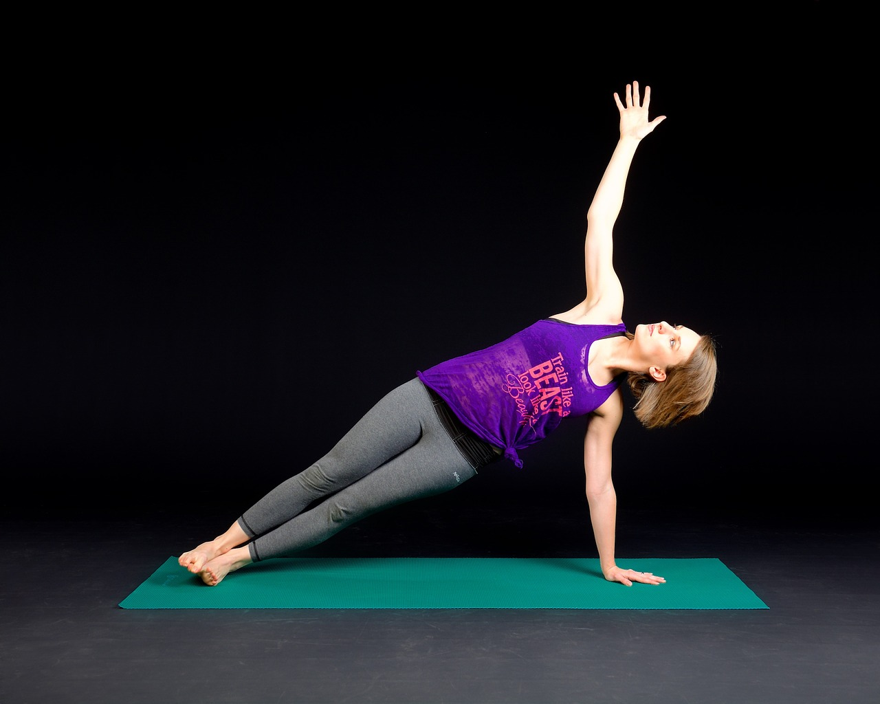 Ways Yoga Benefits Runners Plank