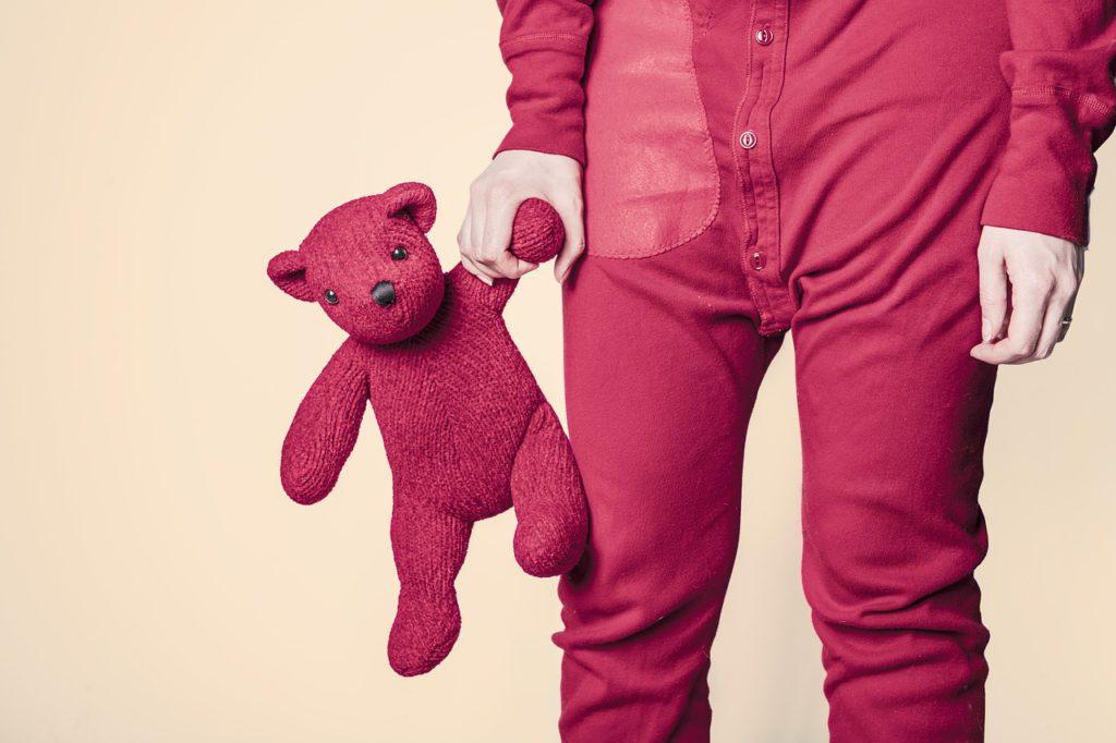 Overhauling my sleep routine teddy bear