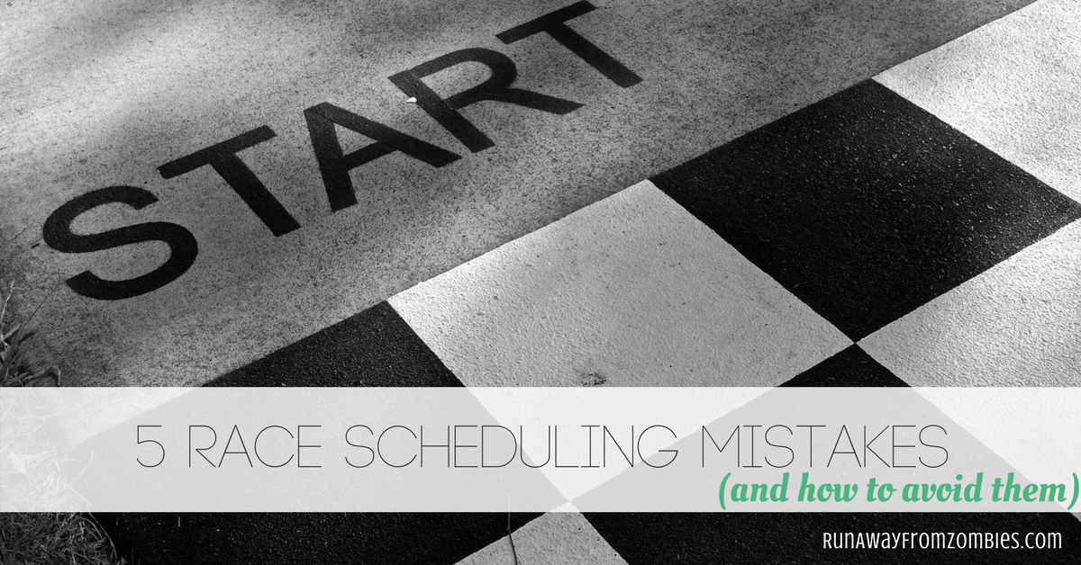 5 Race Scheduling Mistakes and How to Avoid Them. How do you know when adding extra races is enhancing your training plan and when it's sabotaging it?
