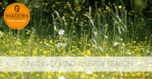 Running with Allergies: Is running with allergies OK? We ask allergist Dr. Goodman on how to prevent and deal with allergies during spring runs outside when pollen counts are high.