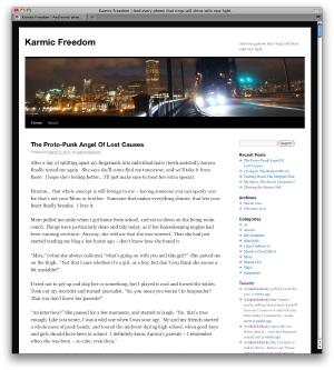 Karmic Freedom