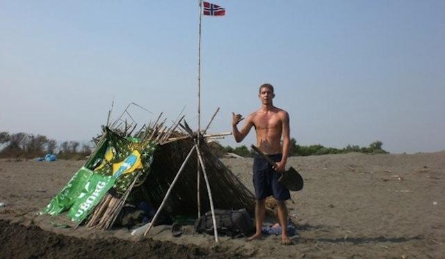 My Albanian beach fort