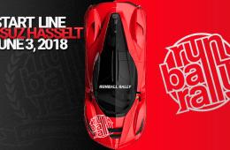 Start Line 2018 Runball Rally