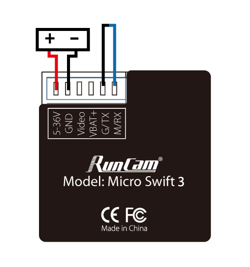 RunCam Micro Swift 3