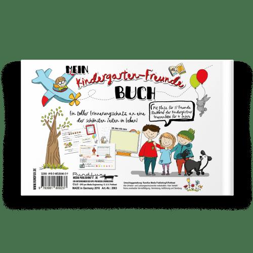 Kindergarten-Freunde Album Rueckseite