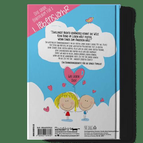 Hallo Baby Dein Babytagebuch Rueckseite