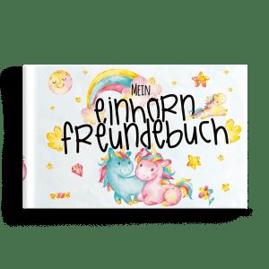 Mein Einhorn Freundebuch