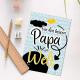 Postkarte - Bester Papa der Welt
