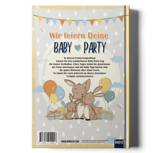 Mein Baby-Party Buch