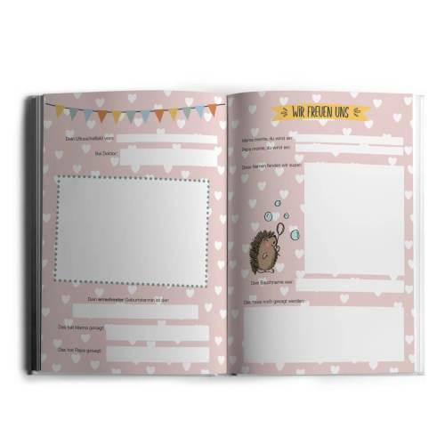 Hallo kleines Wunder - Babytagebuchbuch A4_Innen_2