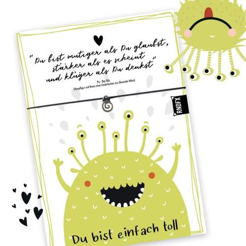 EinfachToll_Glueck_Rundfux_Armbandkarte_Monster