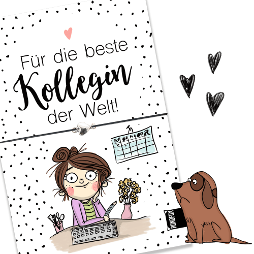 IllustrationJobKollegin_Vorderseite_Wunscharmband_Rundfux
