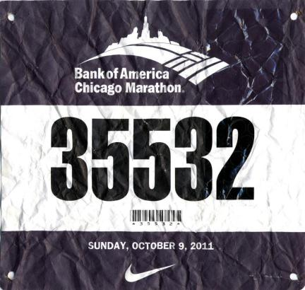 Finish in 4:17:35 — in Chicago, IL.