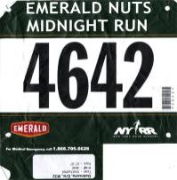 Emerald Nuts Midnight Run 2012