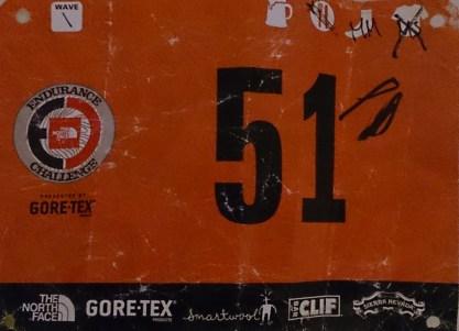 TNF Bear Mountain 50M 2014. Finish in 11:26:57 - at Bear Mountain, NY.
