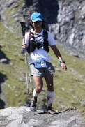 Right after I passed the COL DU PETIT ST BERNARD and on the way to the aid station