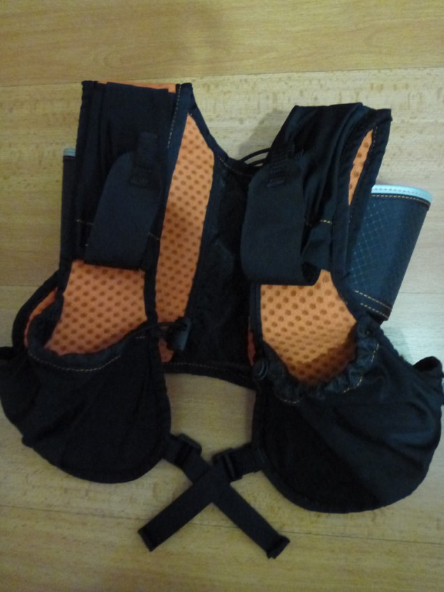 The shoulder and front pockets