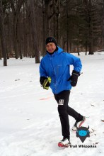 Jun, the 1st person in 50 mile - Photo by Otto
