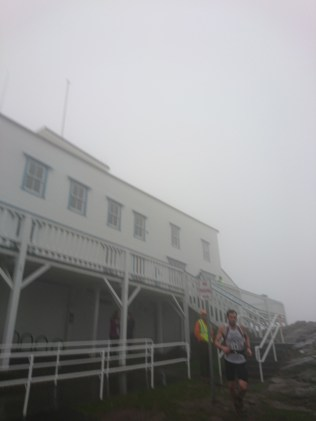 The lookout building. A bit blurry, fast walk and foggy BG were not a good combination for taking picture