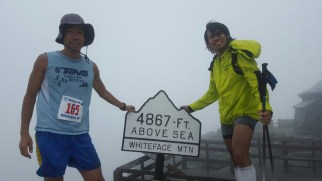 We got to the top of Whiteface - Photo by Chang