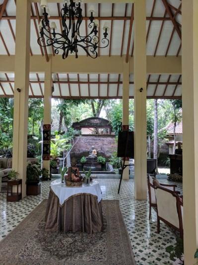 Rumah Boedi Private Residence Borobudur, common area