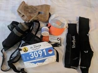 My race gear setup