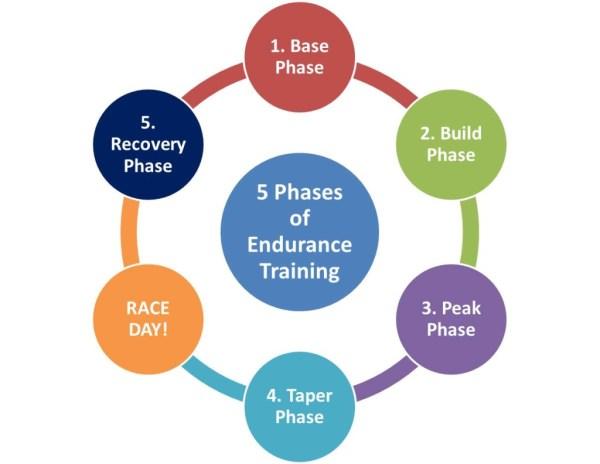 5 Phases of Endurance Training - rUnladylike