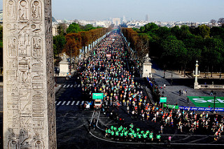 Video y fotos del Maratón de Paris