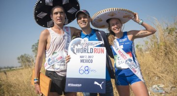 Mexicanos superan sus metas en Wings For Life World Run 2017