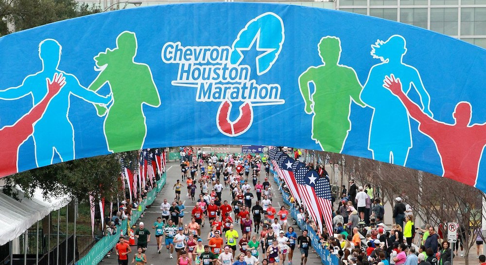 maraton de houston chevron 2018