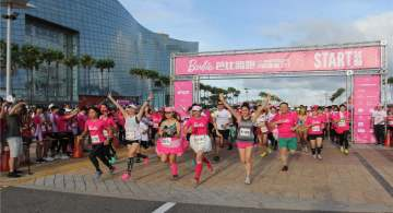 Este domingo la primera Barbie Run en México