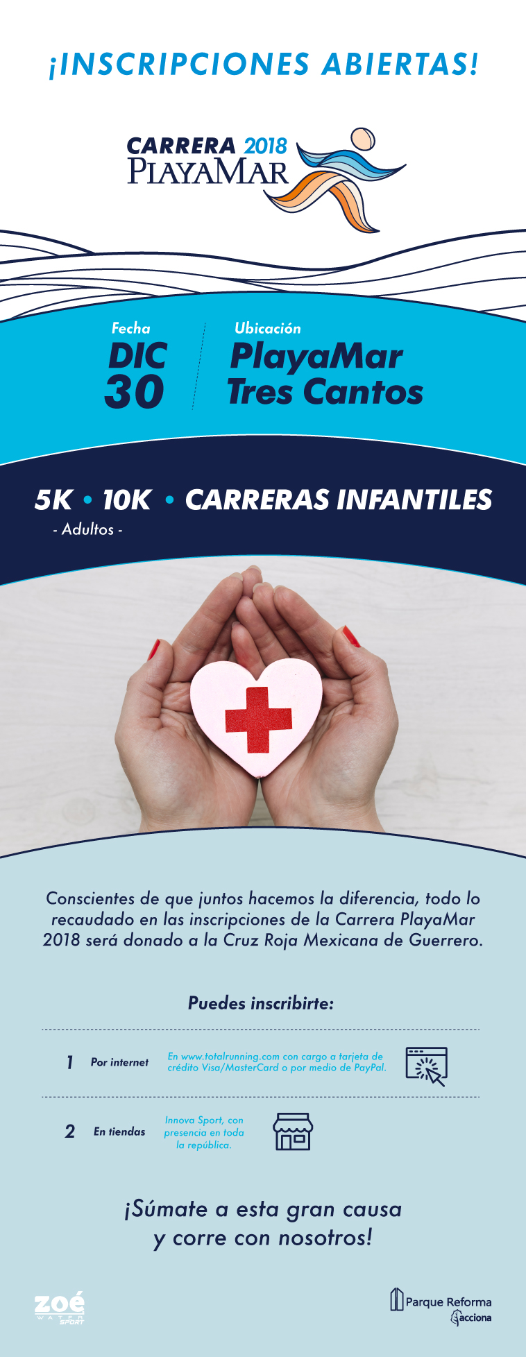carrera playamar total running