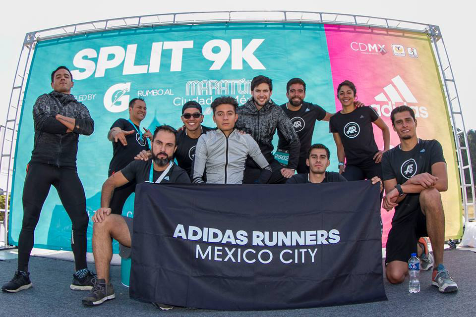 Coaches adidas runners mexico city