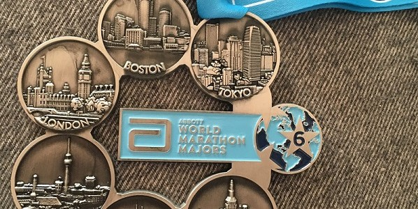 medalla six star world marathon majors