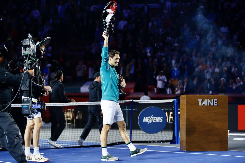 Roger Federer Plaza de Toros Mexico The Greatetest Match