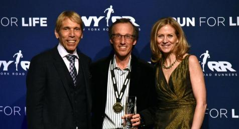 Taconic / NYRR Runner of the Year Greg Diamond