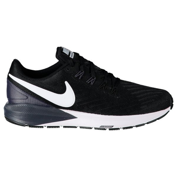 Nike Air Zoom Structure 22 Black buy and offers on Runnerinn