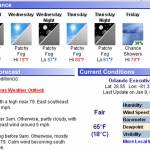 Weather Watch, Racing Plans