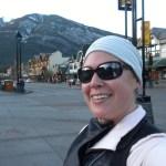 Running in Banff