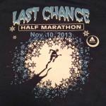 The Night Before the Last Chance Half Marathon