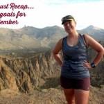 August Recap and September Goals
