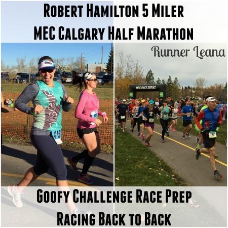 Robert Hamilton 5 Miler & MEC Half Marathon Race Reports