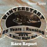 2014 Banff Winterstart 5 Miler Race Report