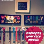 Displaying My Race Medals