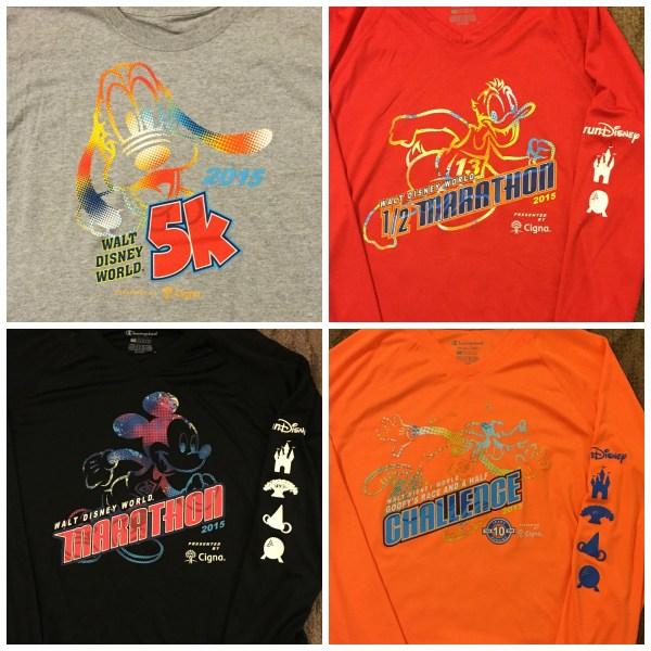 WDW Marathon Race Shirts