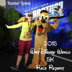 2015 Walt Disney World 5K Race Report