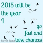 2015 will be the year I…